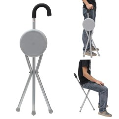 Foldable Portable Chair Singapore Parson Dining Ipree Outdoor Travel Folding Stool Tripod