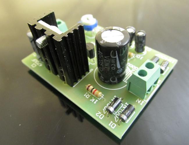 3Pcs DIY D880 Transistor Series Power Supply Regulator Module Board Kit 33