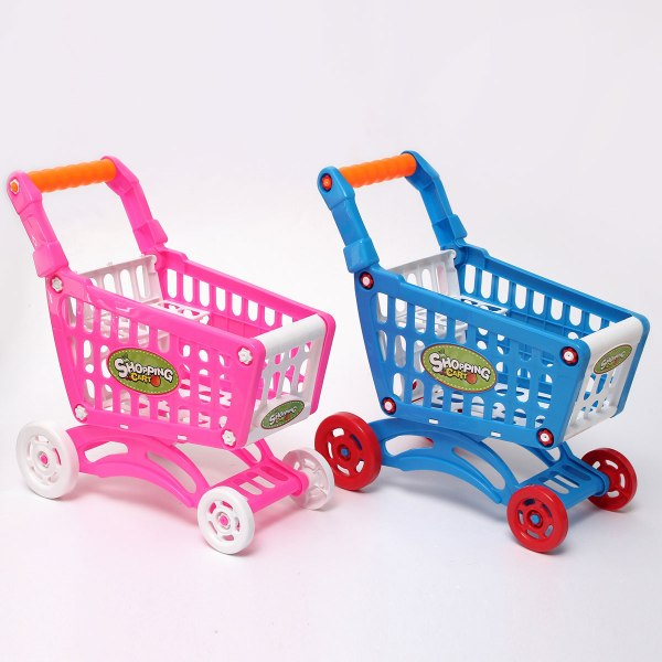 Toy Shopping Cart with Groceries