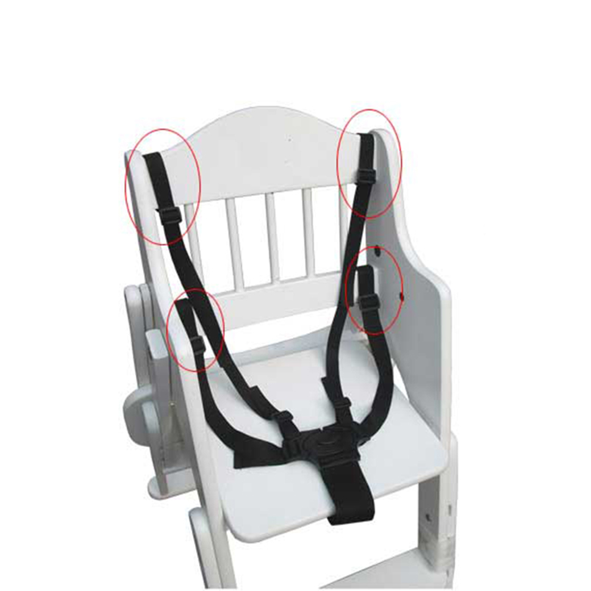 baby portable high chair safety harness outdoor patio chairs babies stroller five point belt