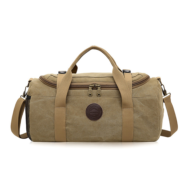 Men Travel Duffle Bag Business Holdall Bag Outdoor Canvas Travel Bag e4c4481d09074