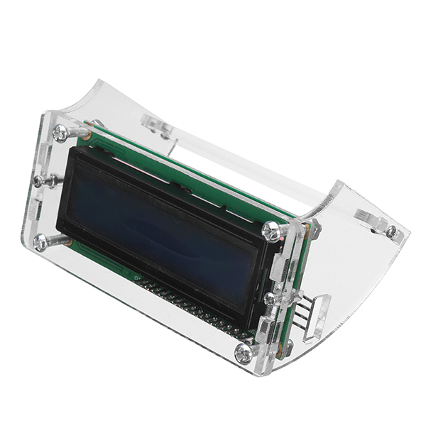 10pcs 2.5 Inches LCD1602 LCD Shell For 1602 Blue/Yellow Backlight LCD Display Module And I2C 1602 Blue/Yellow Green Backlight LCD Display Module 19