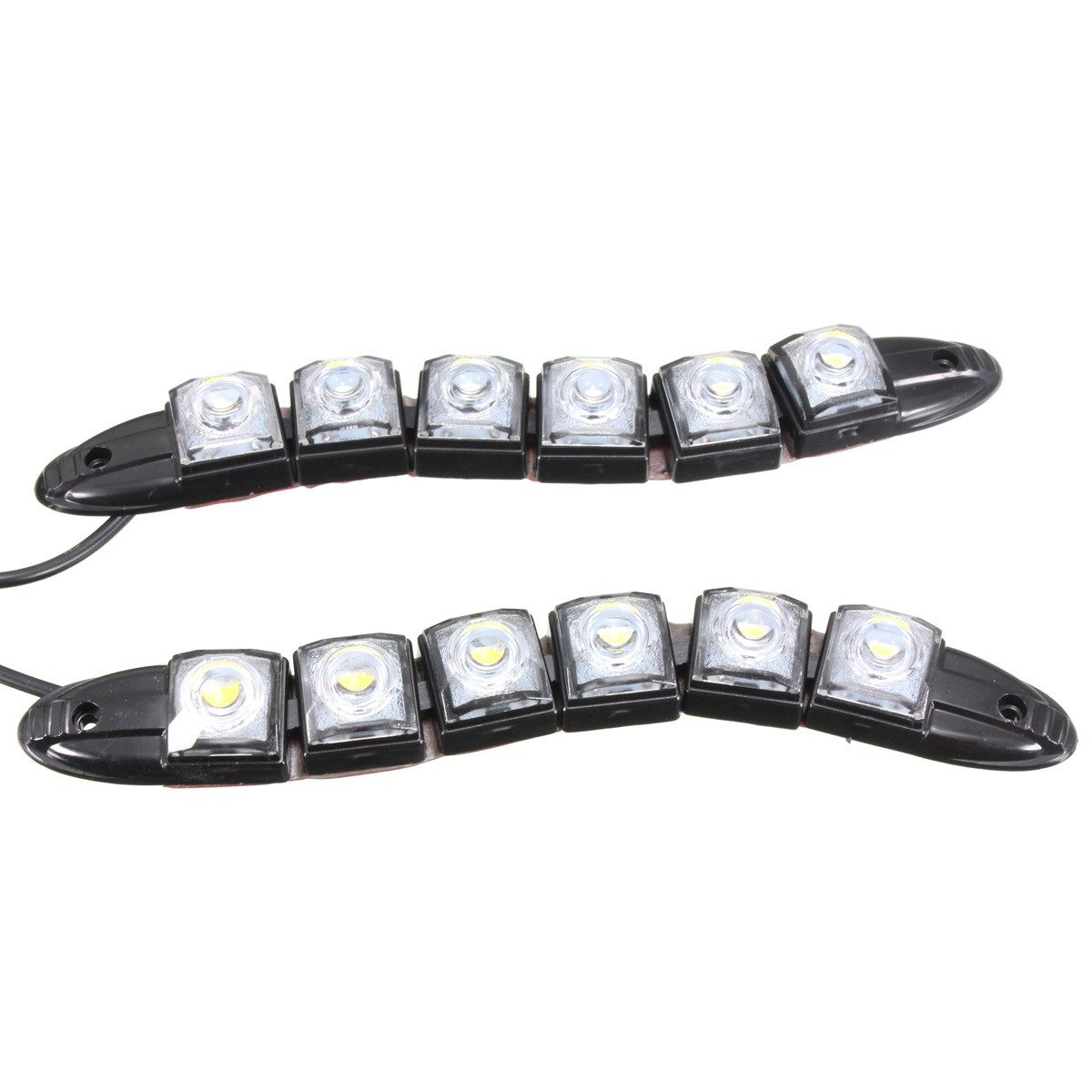 6 8 9 12 14 16 Led Super White Drl Daytime Running Light