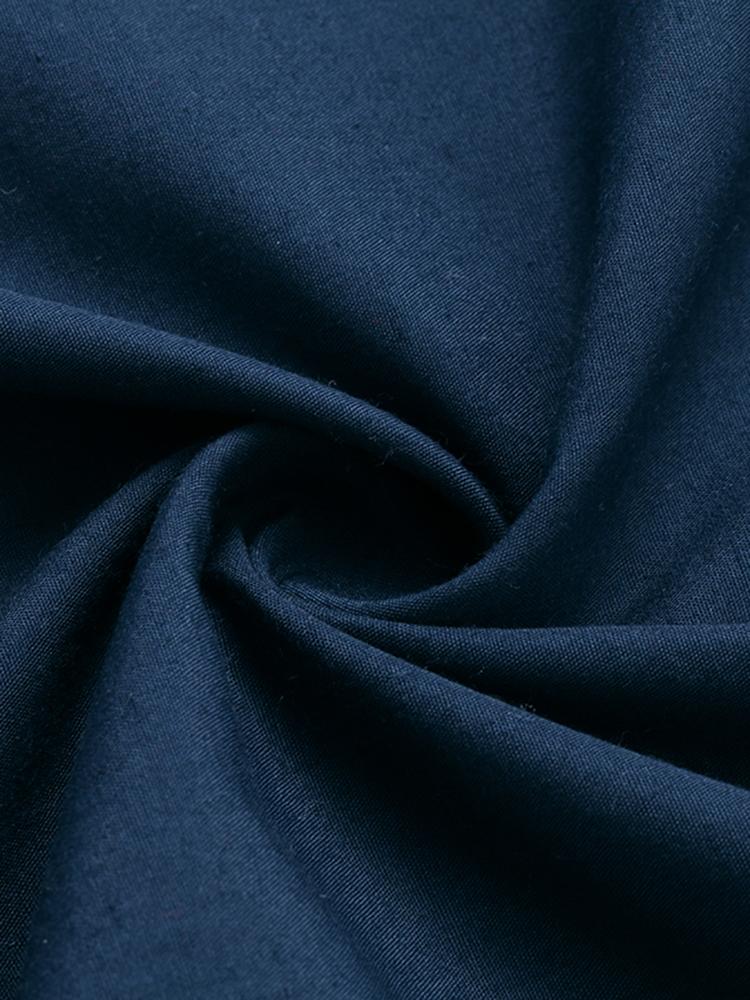 Casual Women Short Sleeve Striped Baggy Maxi Dress