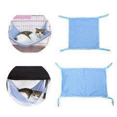 Cat Hammock Under Chair Sofa Covers Australia Pet Kitten Mesh Cradle Bed Animal Hanging Cage