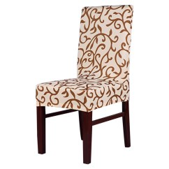 Chair Seat Covers With Elastic Bamboo Cushion Round Honana Wx 912 Elegant Spandex Stretch