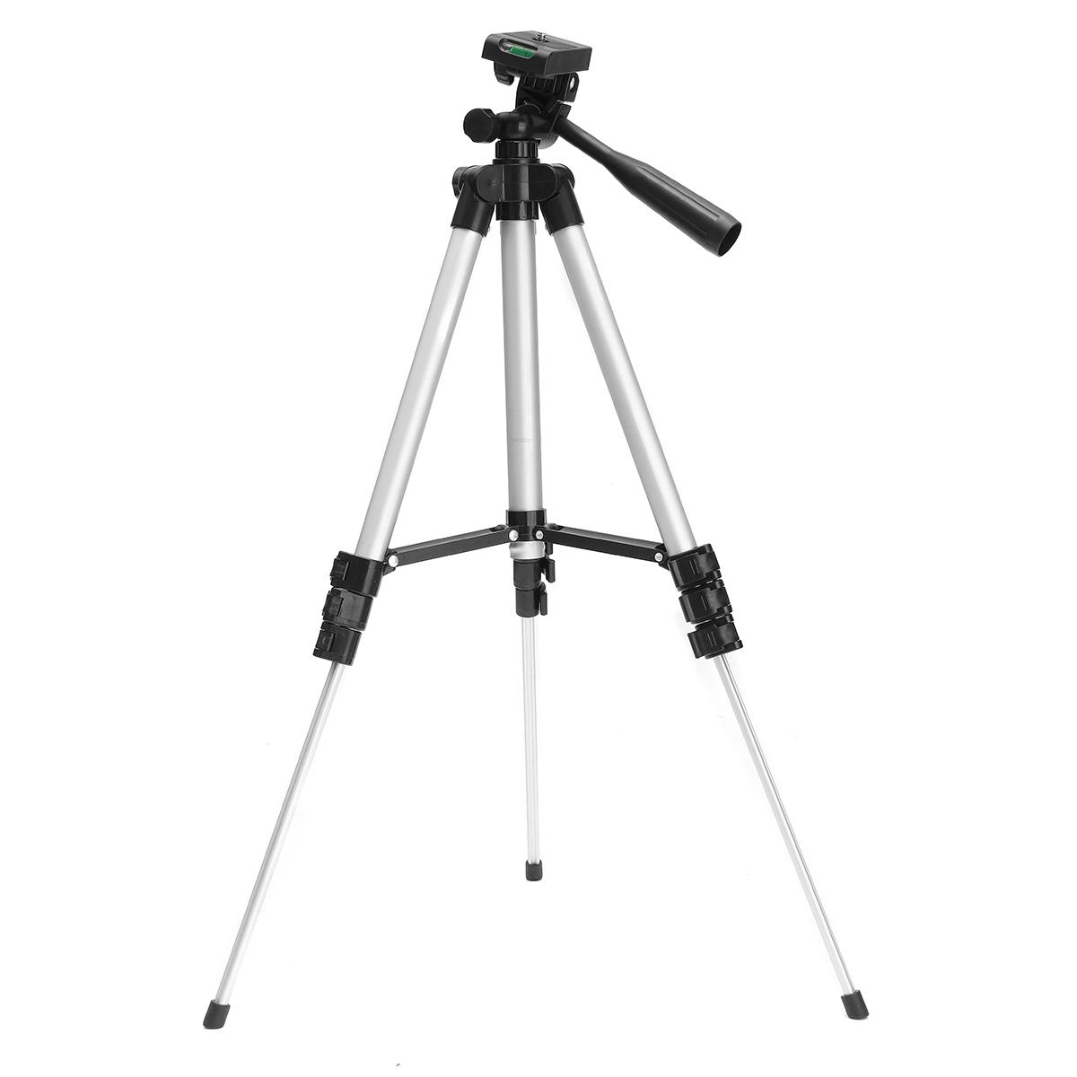 Professional Camera Adjustable Tripod Stand Holder Live