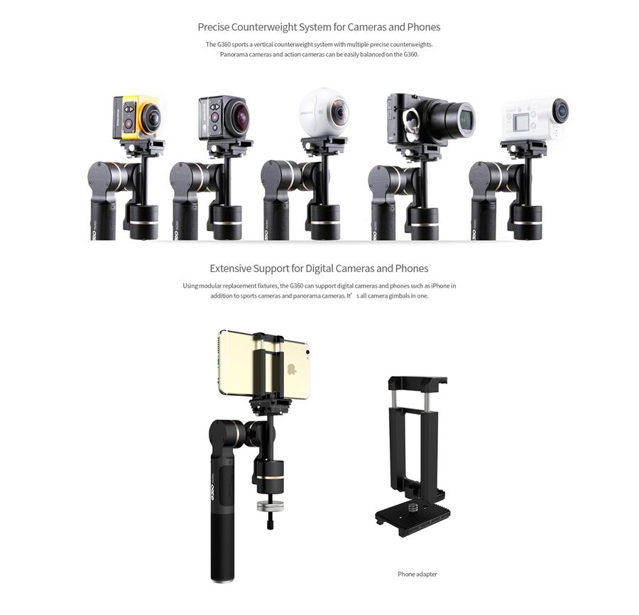 Feiyu Tech G360 360 Degree Panoramic Camera Handheld