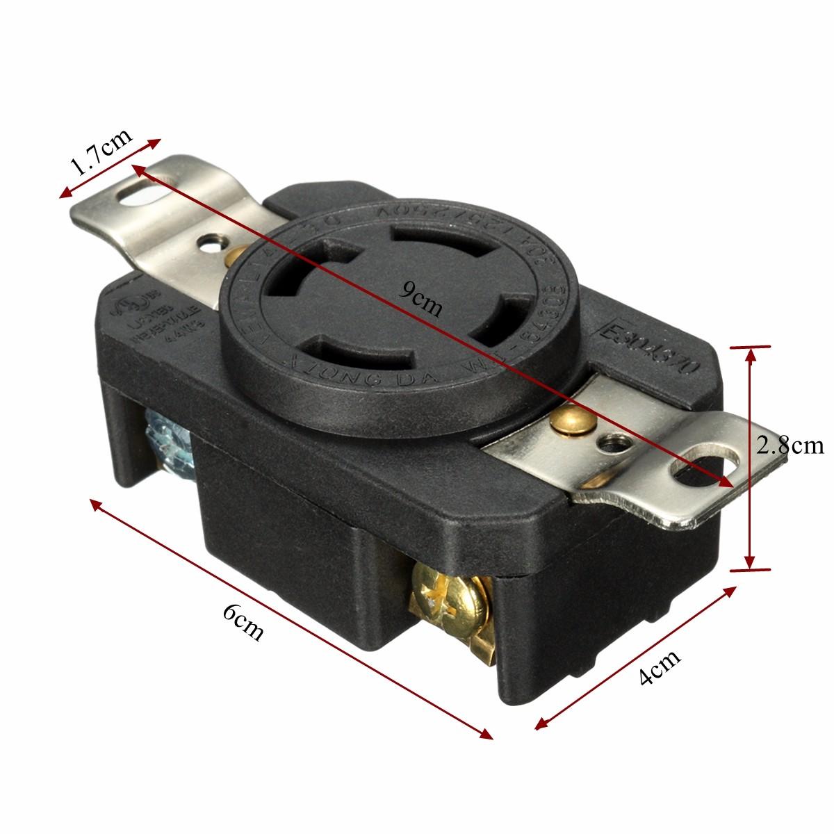 120 volt plug wiring diagram electric heat furnace male 230 elsavadorla