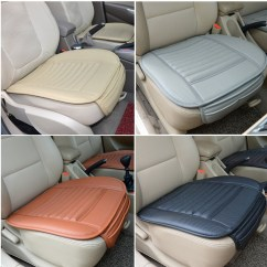 Office Chair Seat Covers Canada Aluminum Group Universal Seatpad Pu Leather Car For Auto
