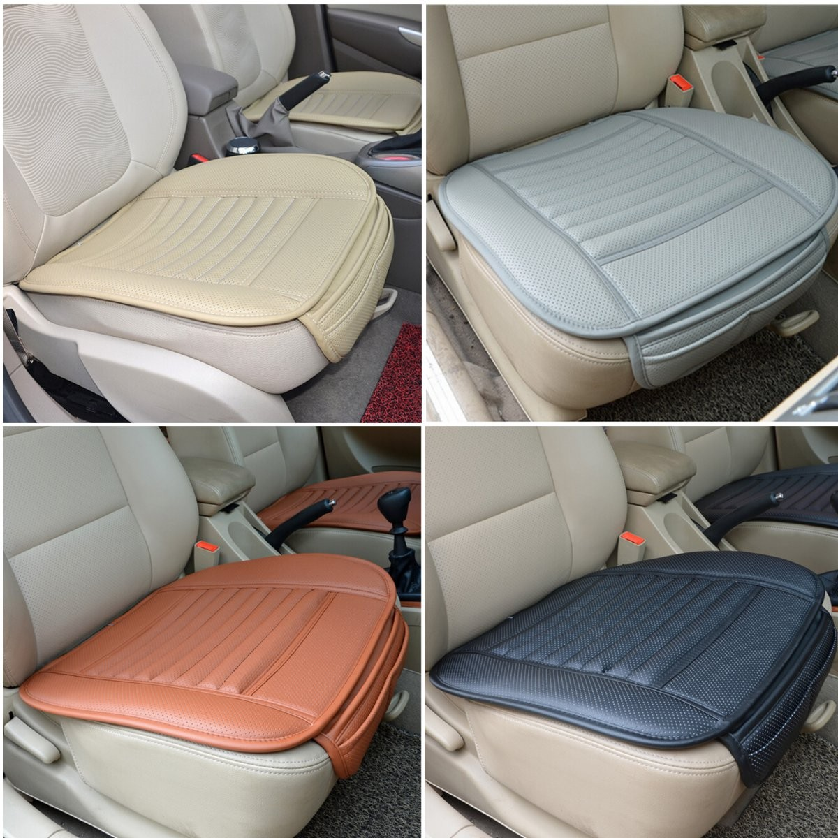 universal chair covers for sale rustic occasional chairs seatpad pu leather car seat auto