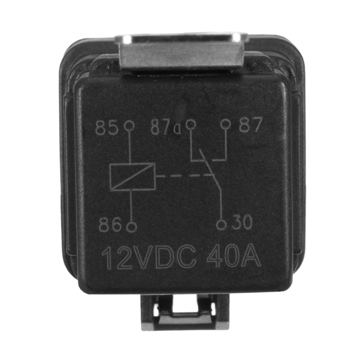 12vdc 30 40a relay wiring diagram 1982 jeep cj5 5 pcs automotive switch harness 12awg wires