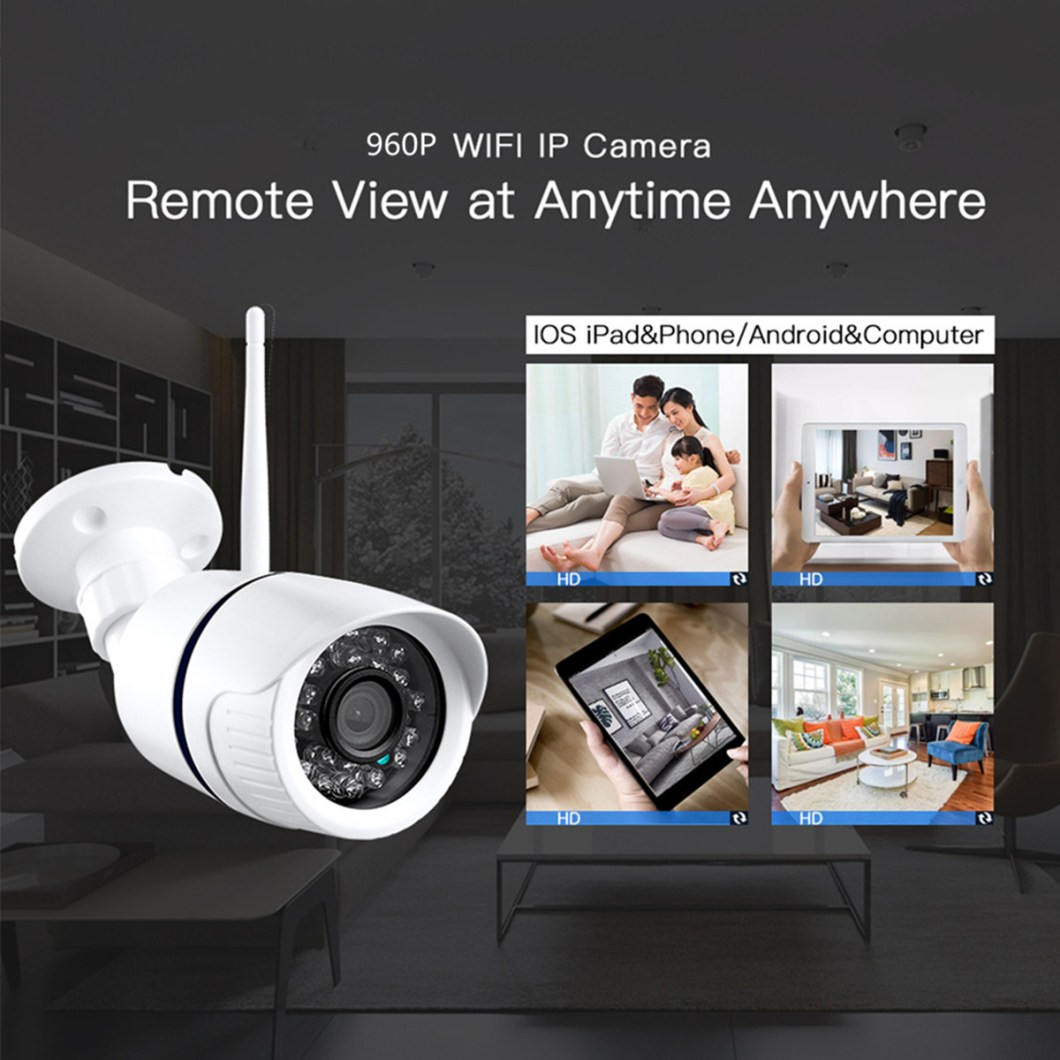 960P Wireless WiFi Network Security CCTV IP Camera Night Vision Video Webcam 22