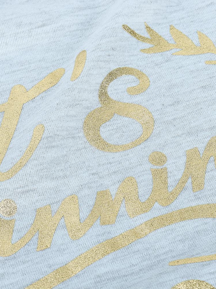 Casual Women Patchwork Stripe Long Sleeve Printing T-Shirt