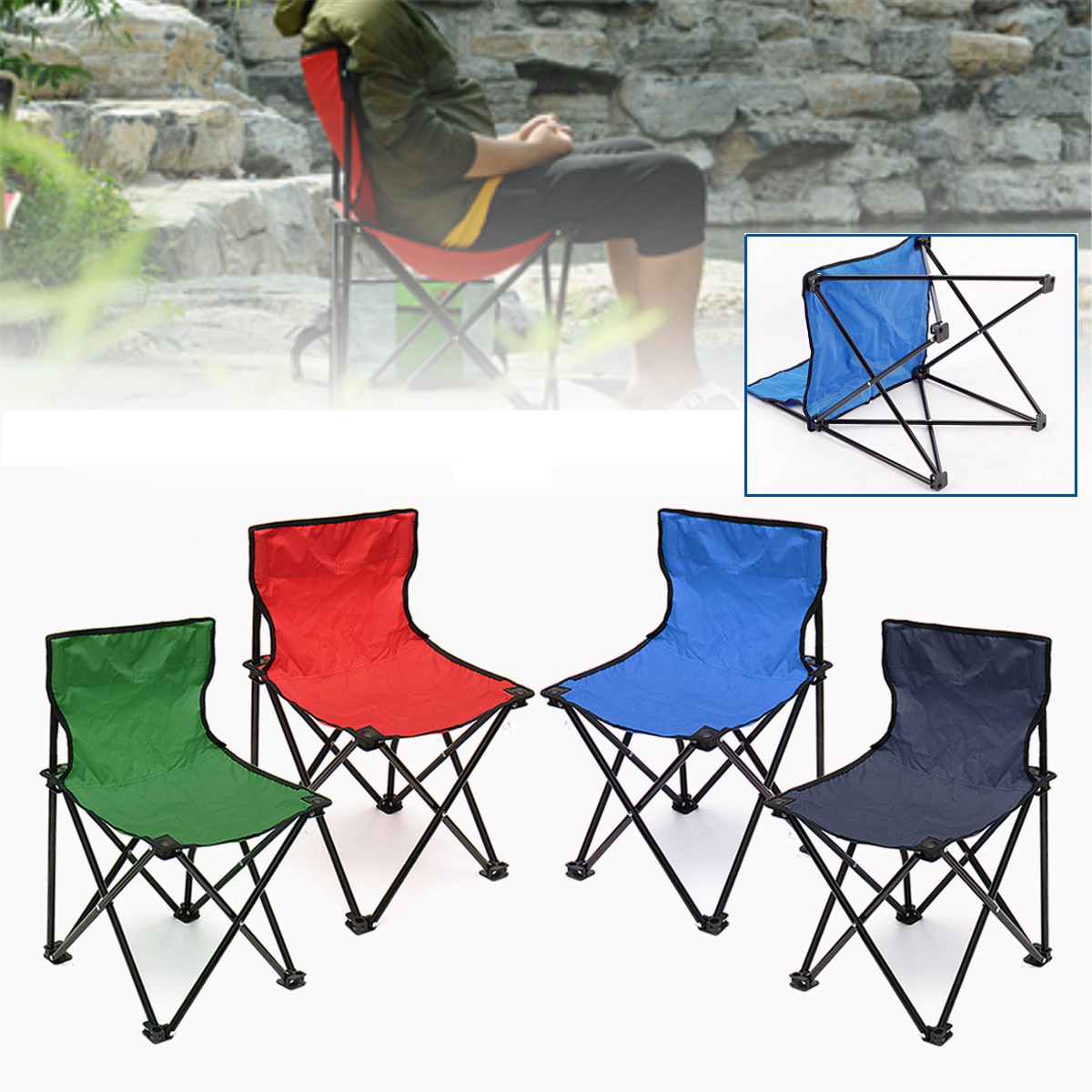 fishing chair singapore leather task 3431 5x32cm portable folding seat for camping