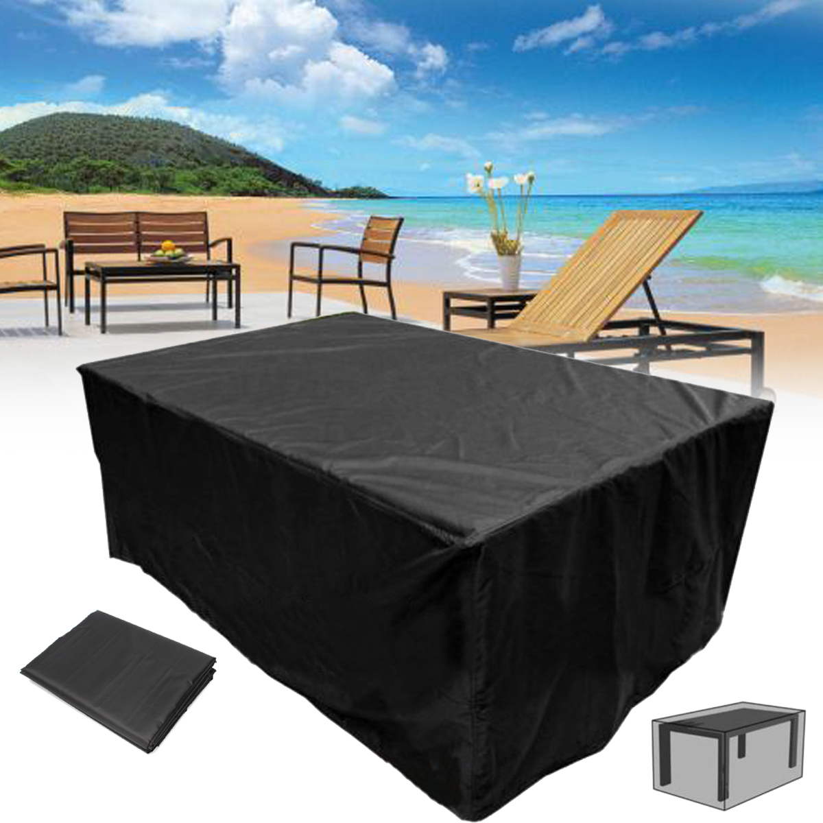 waterproof outdoor chair covers australia indian 320x220x70cm garden patio furniture