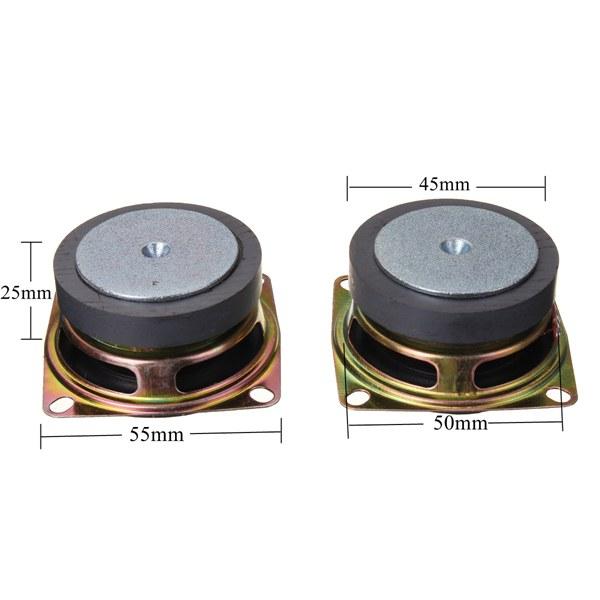 5V USB Mini Amplifier DIY Speaker Kit 70x75x103mm 3W Per Channel  Transparent Acrylic Case