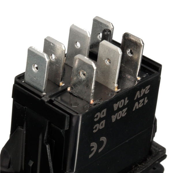 Rocker Switch Wiring Diagram On Carling Switch Wiring Diagram 5 Pin