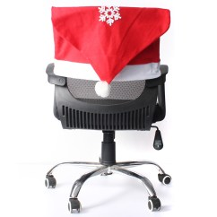 How To Make Kitchen Chair Back Covers Nfl Folding Chairs Christmas Snowflake Decals Cover Dinner Seat