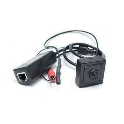 960P Audio Mini POE IP Camera H.264 Series 40X40MM Small 1.3 Megapixel With External POE Securiy 18