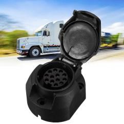 Caravan Grey Socket Wiring Diagram 2016 Chevy Sonic Stereo 12v 13pin European Standard Tow Bar Electrical