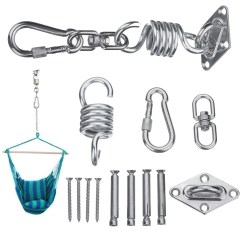 Hanging Chair Bolt Copa Beach Chairs With Canopy Stainless Steel Hammock Kit Ceiling Mount