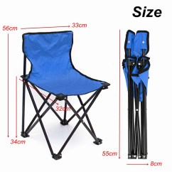 Fishing Chair Singapore Steel Office Wheels 3431 5x32cm Portable Folding Seat For Camping