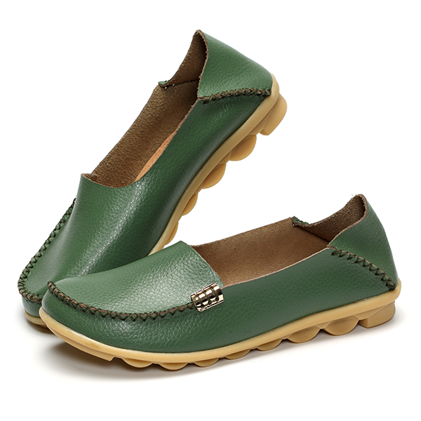 US Size 5-13 Women Flat Shoes Casual Comfortable Outdoor Slip On Loafers