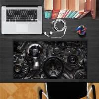 Mechanical Gear PAG STICKER 3D Desk Sticker Wall Decals ...