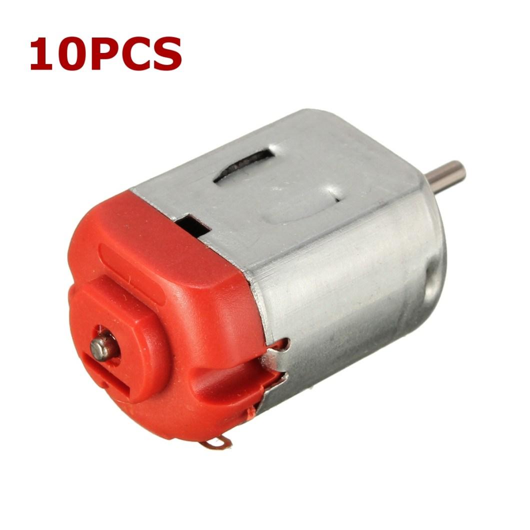 10PCS R130 Motor Type 130 Hobby Micro Motors 8000 RPM 3-6V DC 0.35-0.4A 23