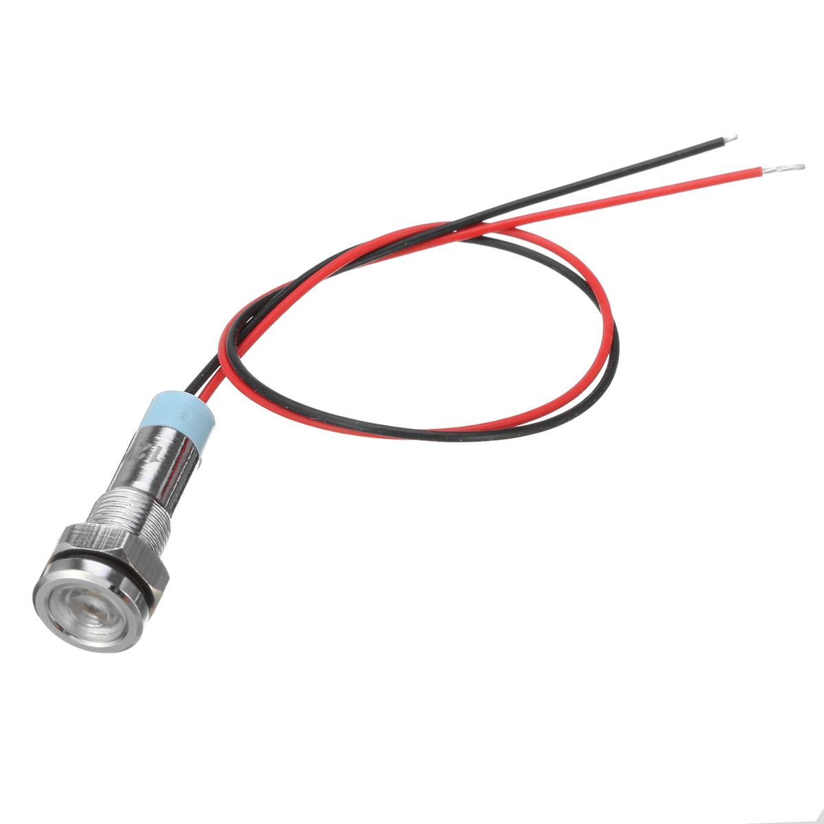 12V 6mm LED Indicator Light Pilot Dash Lamp Motorccyle Car