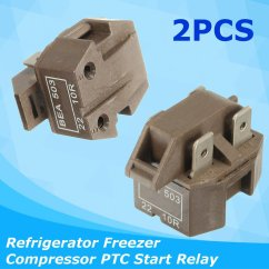 Refrigerator Start Relay Wiring Diagram Clifford Alarm Other Electronics 2pcs Ic 4 Universal