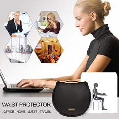 Posture Corrector For Office Chair Plastic Stackable Chairs Adjustable Waist Protector Portable Back Support Belt Pad