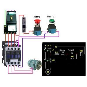 CJX21801 AC 220V380V 18A Contactor Motor Starter Relay 3 POLE1NC COIL 4KW 75KW | Alexnld