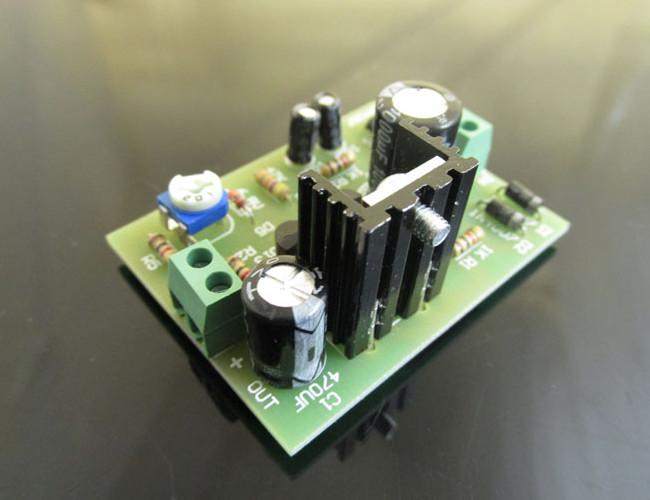 3Pcs DIY D880 Transistor Series Power Supply Regulator Module Board Kit 32