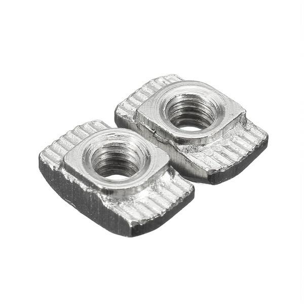50pcs M4-20 Carbon Steel T Sliding Nut Block for 2020 Aluminum Profile