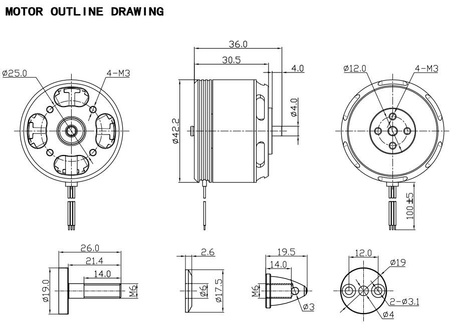 Racerstar Racing Edition 3515 BR3515 500KV 3-6S Brushless