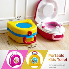 Portable Potty Chair How To Make A Queen Throne Kid Baby Toddler Toilet Training Seat Travel
