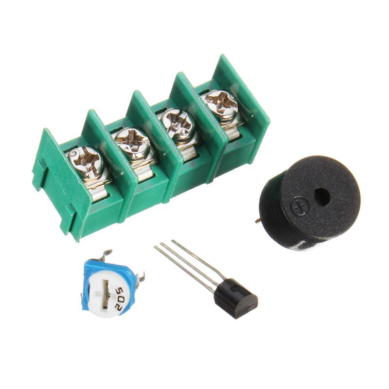 5Pcs DIY Infrared Laser Aiming Anti-theft Burglar Alarm Module Kit 24