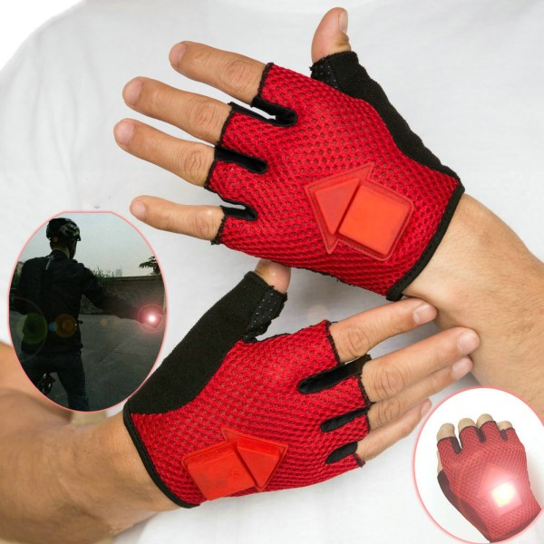 Bikight Gravity Sensor Turn Signal Gloves Led Light