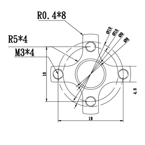 DIY Assemble 2204 2-3S Brushless Motor 0.42*2.8 Copper