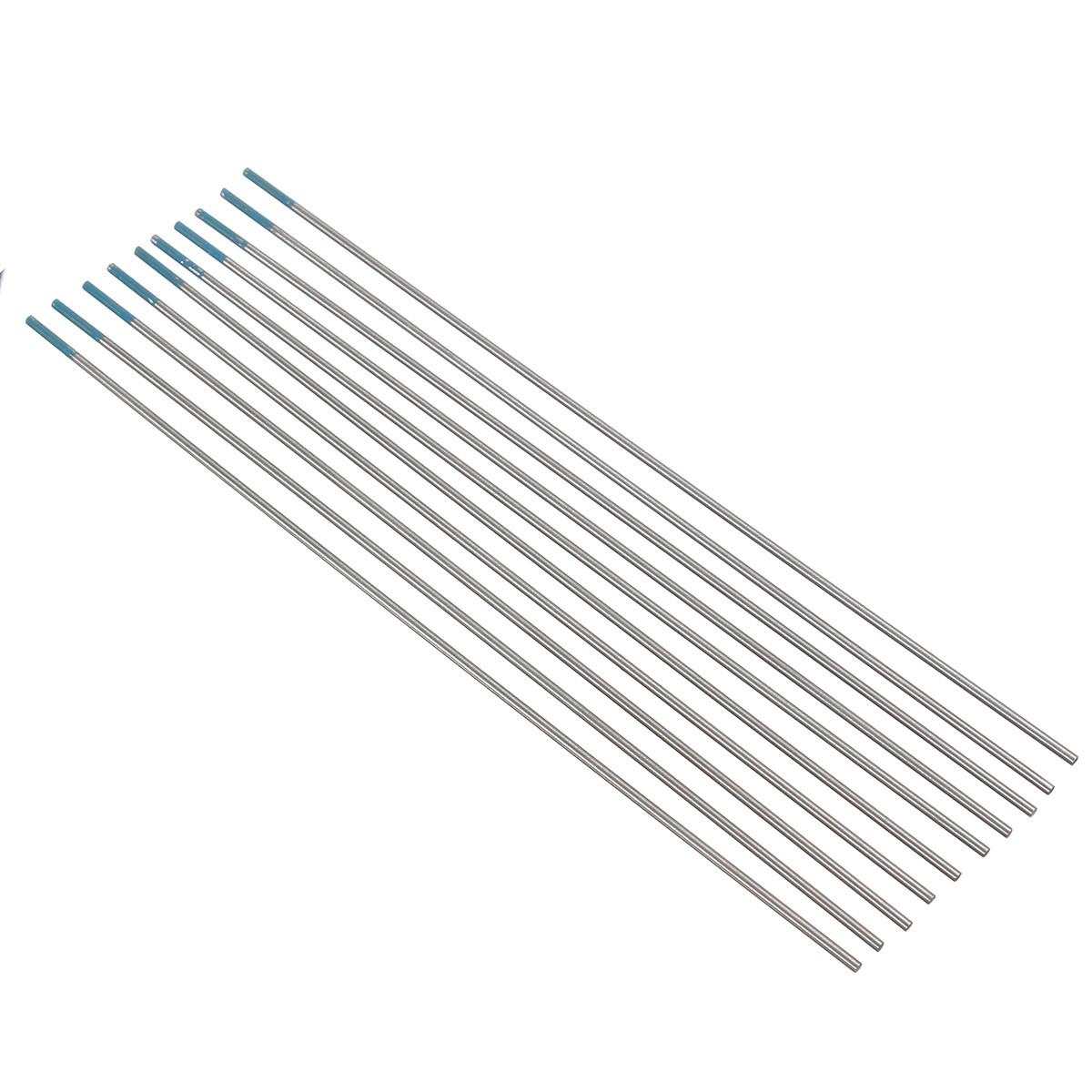 10pcs 2% Lanthanated WL20 Sky Blue TIG Welding Tungsten
