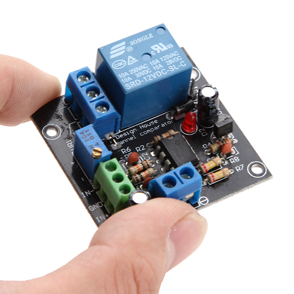 Voltage Comparator Circuit Using Lm339