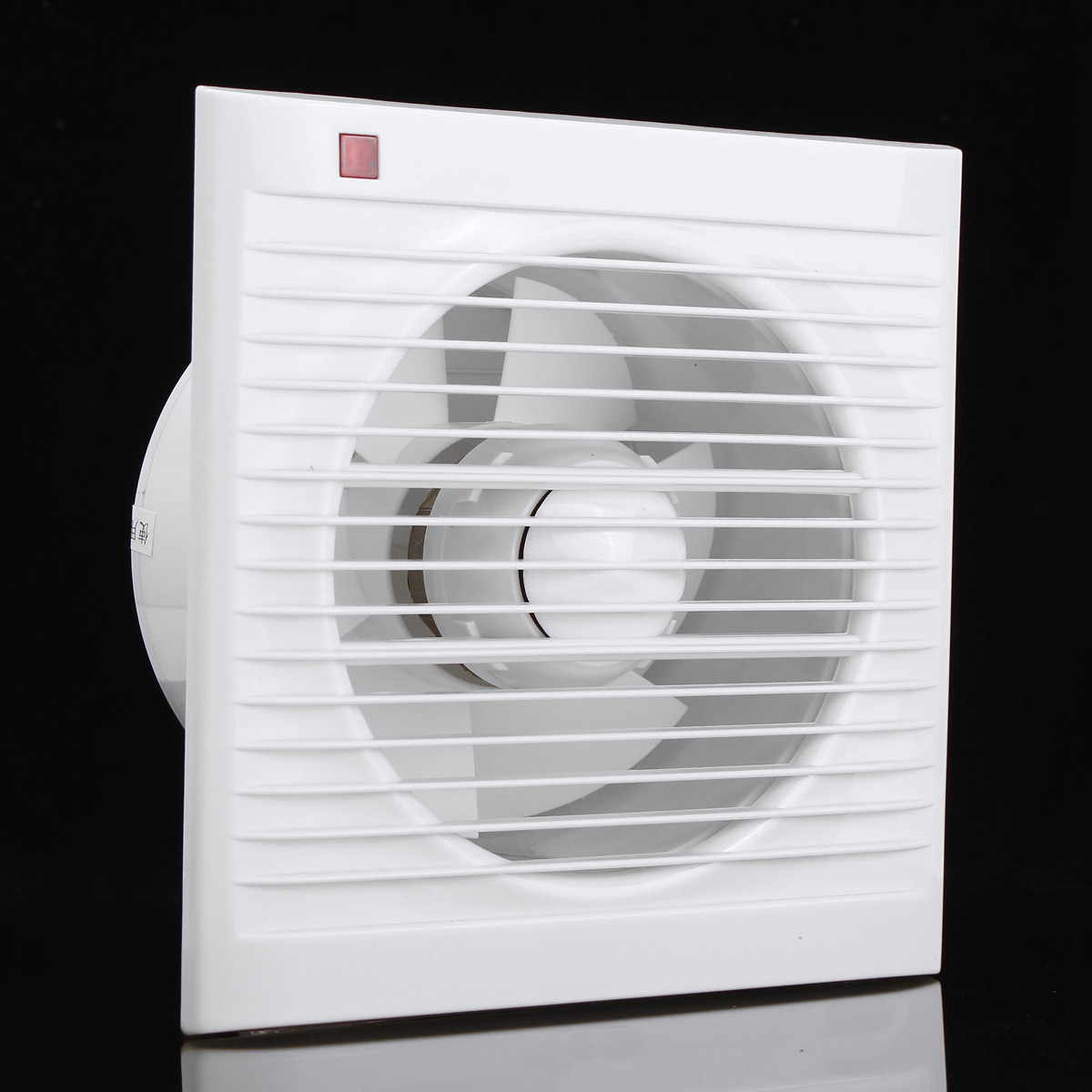 kitchen window exhaust fan blanco sink 4 6 8 waterproof mute bathroom extractor