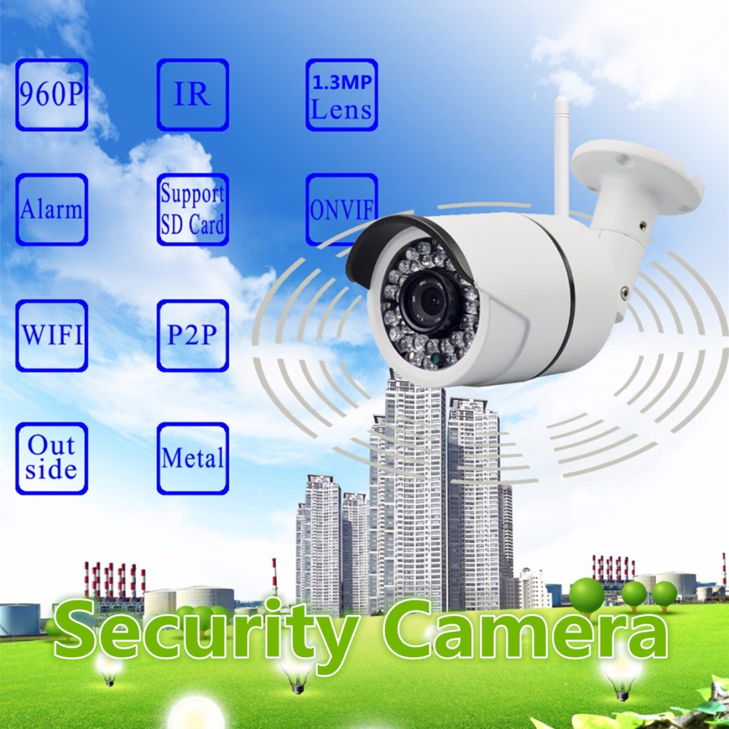 960P Wireless WiFi Network Security CCTV IP Camera Night Vision Video Webcam 17