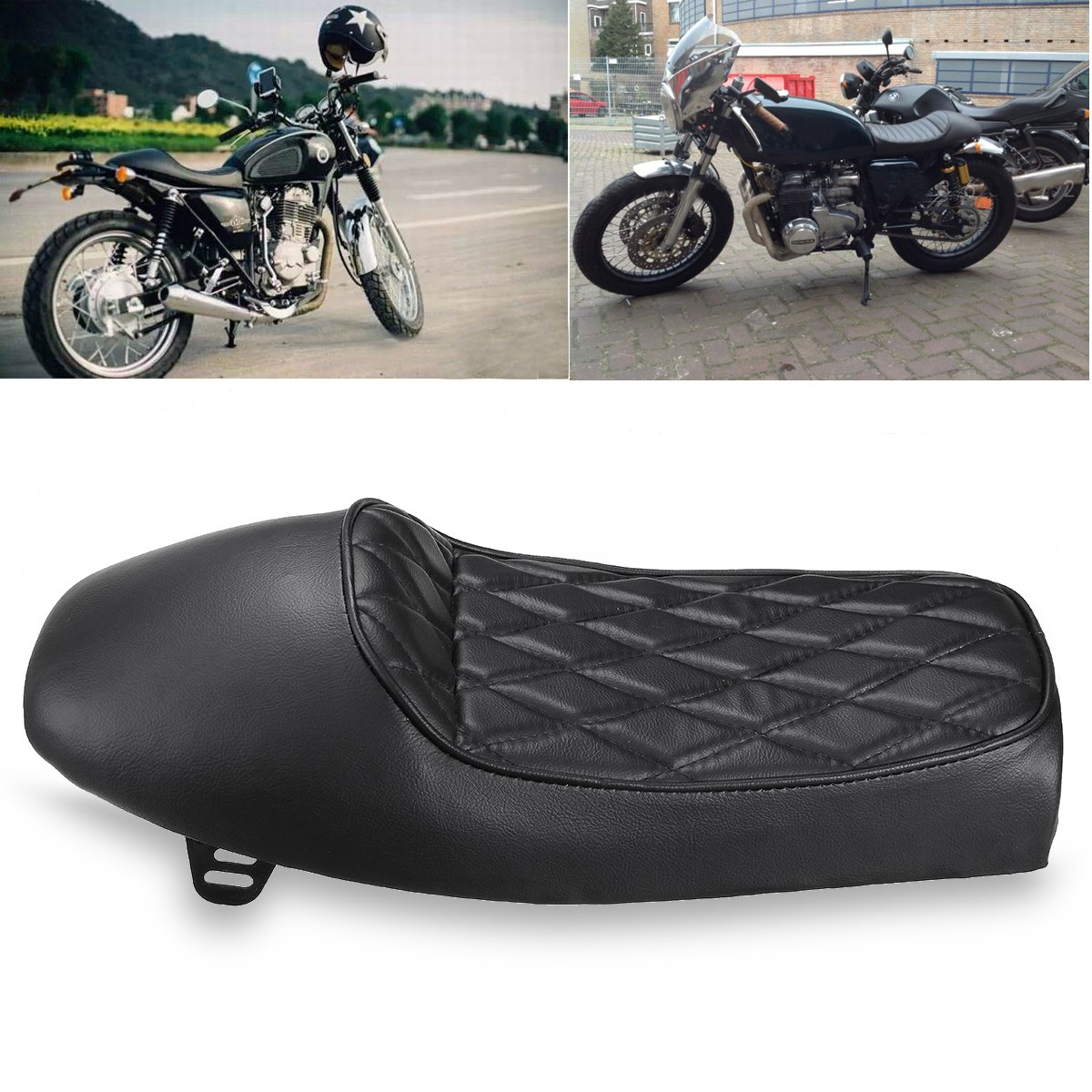 x racer chair 40 4 vintage hump saddle cafe seat motorcycle custom