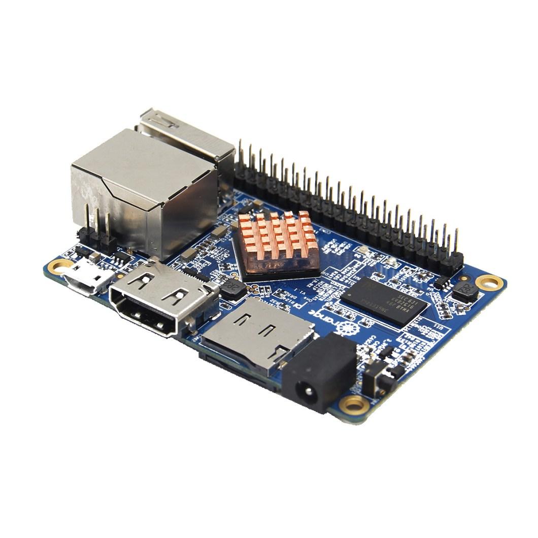 3-in-1 Orange Pi One  512MB H3 Quad-core Development Board + Acrylic Case + Cooling Fan Heat Sink 10
