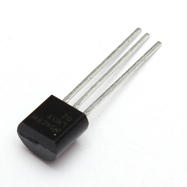 3Pcs LM35DZ TO-92 LM35 Precision Centigrade Temperature Sensor 6
