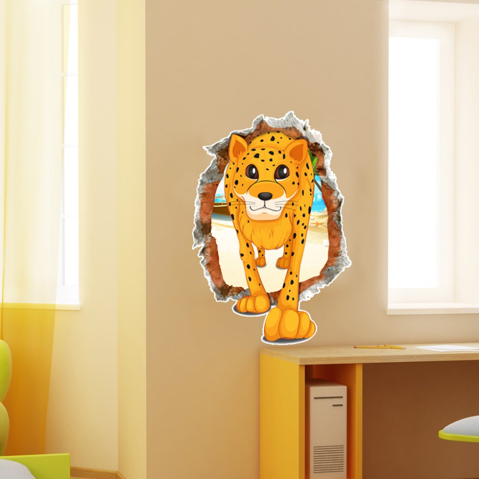 Amazing Cheetah Print Wall Art Pictures Inspiration - The Wall Art ...