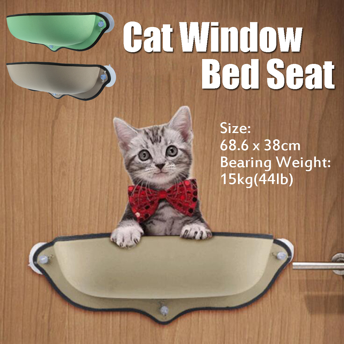 Cat Window Bed Hammock Seat Perch Mounted Sofa Mat Hanging
